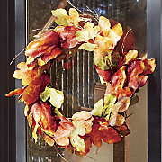 Maple Leaf Wreath