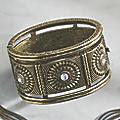 Crystal/Medallion Bracelet