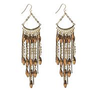 fringe wire earrings