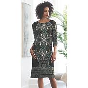 Emma Jean Print Dress