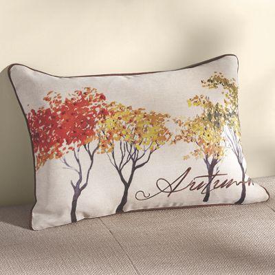 Autumn Art Pillow