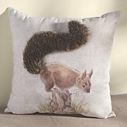 Bushy-Tail Pillow