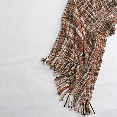 Tweed Knit Throw