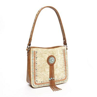 Concho Western Hobo Bag