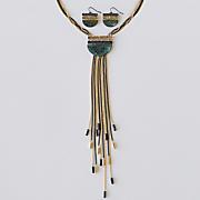 Tassel Necklace/Earring Set