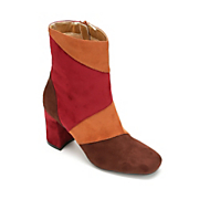 gaze colorblock bootie by bellini