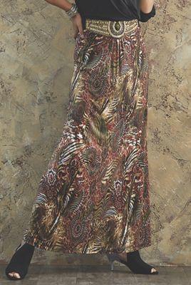Hattie Print Skirt