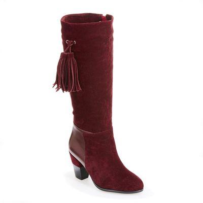 Side-Tassel Boot