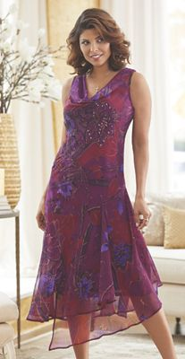 Vera Print Dress