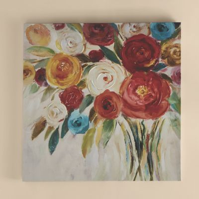 Rose Bouquet Canvas