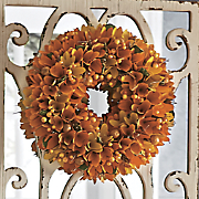 Autumn Wood Curl Wreath
