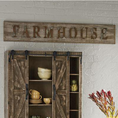 Farmhouse Plaque