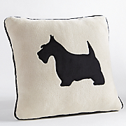 Plush Scottie Pillow