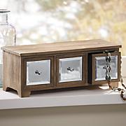 mirror drawer trinket box