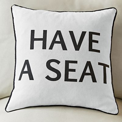 Have a Seat Pillow