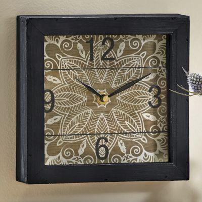 Geo Flower Clock