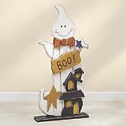 Wood Boo Ghost