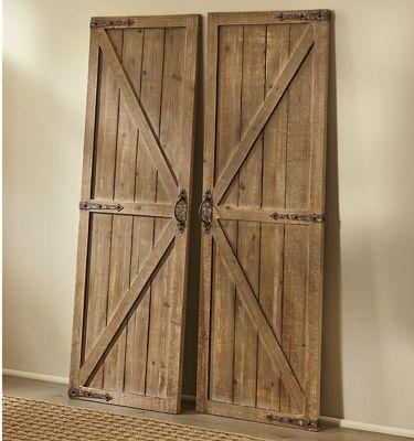 Wood Barn Doors From Country Door Nd752875