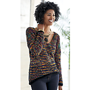 janis high low sweater