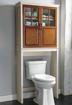 Two-Tone Bath Space Saver