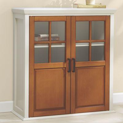 Two-Tone Bath Cabinet