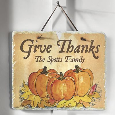 Give Thanks Slate