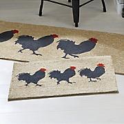 Roosters Indoor/Outdoor Mat
