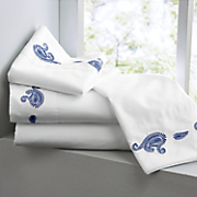Paisley Embroidered Sheets