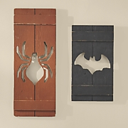 Set of 2 Halloween Shutters