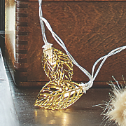 Gold Leaf Light Strand