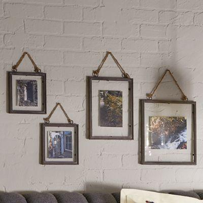 Set of 4 Rustic Wall Frames