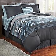 jefferson plaid complete bed set
