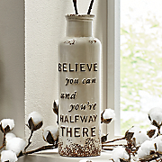 believe vase