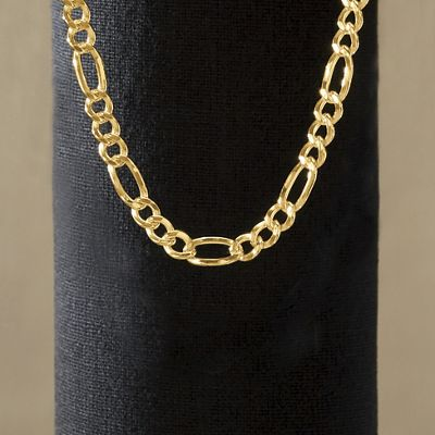 Figaro Necklace 4.0mm thick