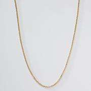 Goldtone Round Box Chain