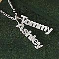 2-Names Family Pendant