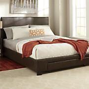 queen platform bed with drawer storage