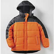 Boys' Colorblock Puffer Jacket