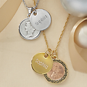 name year genuine coin pendant