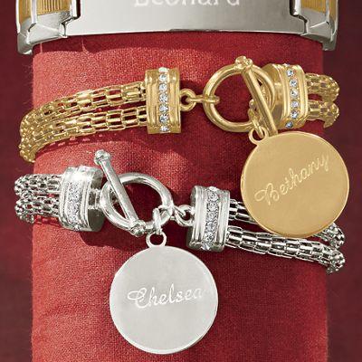 Name Chain Bracelet