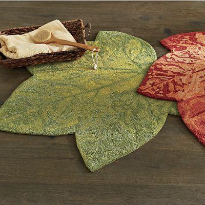Maple Leaf Indoor/Outdoor Rug