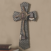 Fire Fighter Memorial Wall Cross