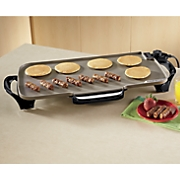 Ceramic Griddle with Removable Handles by Presto