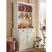 plate cabinet hutch