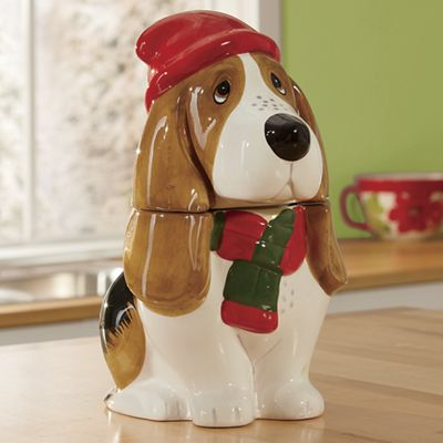 Charlie Holiday Cookie Jar by The Pioneer Woman