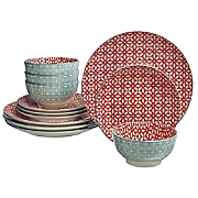 12-Piece Ceramic Dinnerware Set