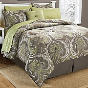balboa complete bed set  accent pillow and window treatments