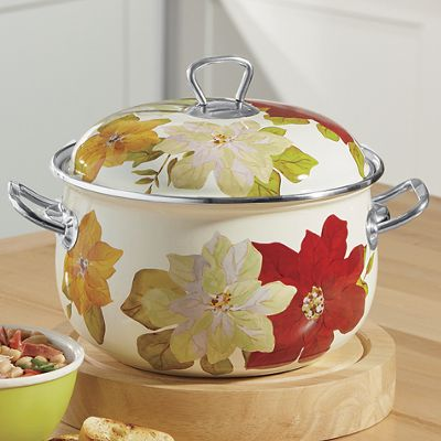 4.5-Qt. Poinsettia Dutch Oven by The Pioneer Woman