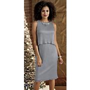 Sleeveless Overlay Dress