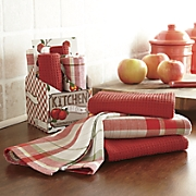 Set of 4 Apple Towels